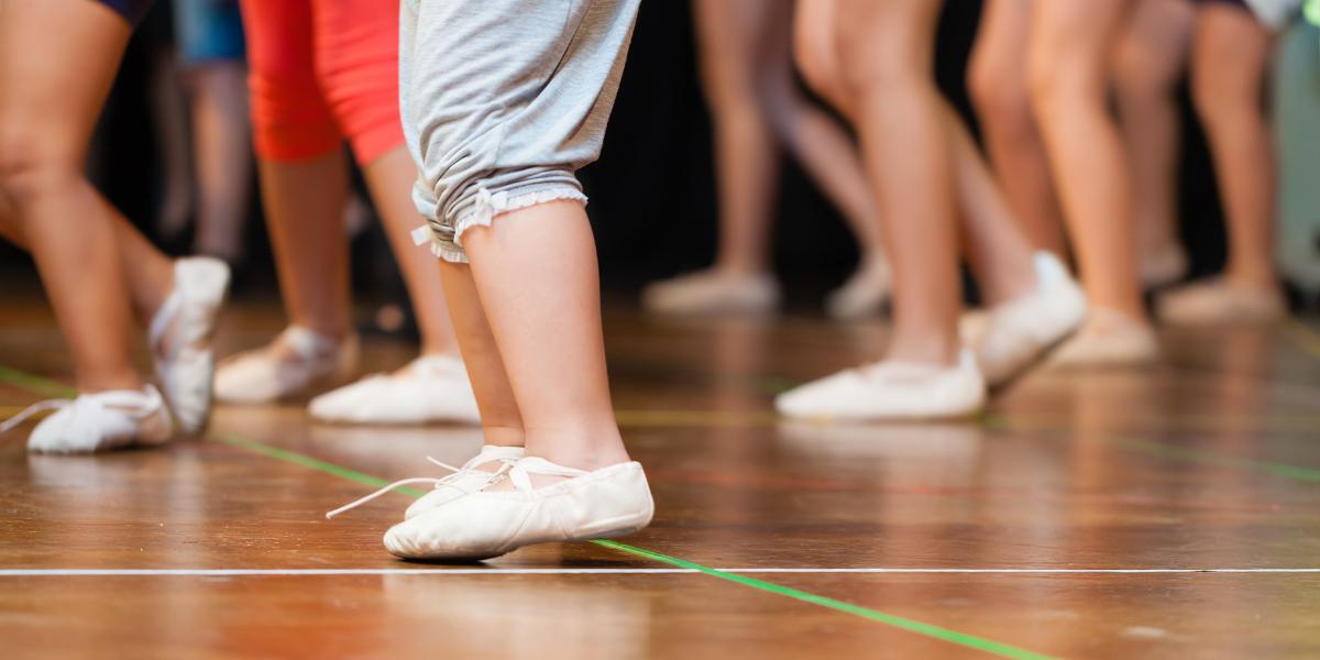 Child Dance Feet